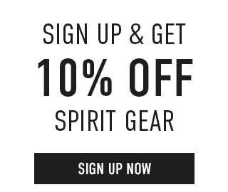 Sign up & get 10% off Spirit Gear. Click to enter your email.