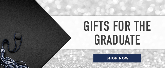 Picture of graduation cap. Gifts for the Graduate. Click to shop now.