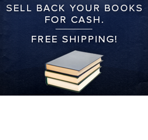 Picture of textbooks. Sell back your books for cash. Free shipping! Click for more details.